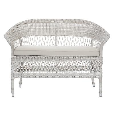 John Lewis Hera 2-Seater Wicker Sofa