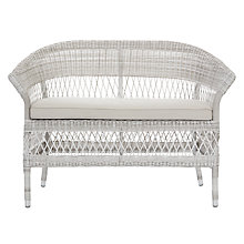 Buy KETTLER Hera 2-Seater Wicker Sofa Online at johnlewis.com