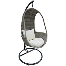 Buy John Lewis Dante Hanging Pod Chair Online at johnlewis.com