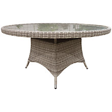 Buy John Lewis Dante 6 Seater Outdoor Dining Table Online at johnlewis.com