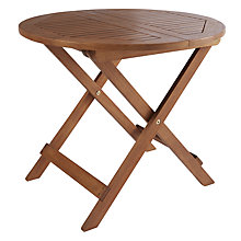 Buy John Lewis Naples Folding Side Table Online at johnlewis.com