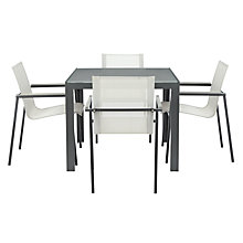 Buy John Lewis Maya Outdoor Dining Table and 4 Chairs Online at johnlewis.com