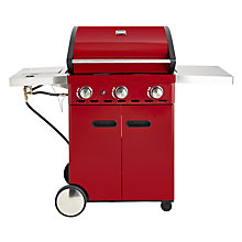 Buy Outback Saturn Gas Barbecue, Red Online at johnlewis.com