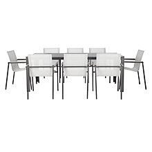 Buy John Lewis Maya 8-Seater Outdoor Dining Set Online at johnlewis.com