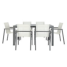 Buy John Lewis Maya 6-Seater Outdoor Dining Set Online at johnlewis.com