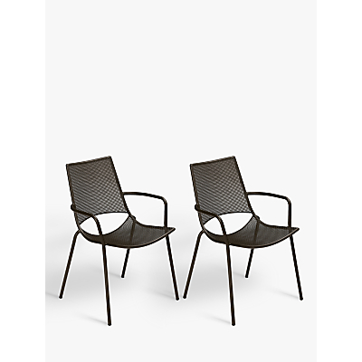 EMU Ala Mesh Outdoor Armchair, Set of 2, Bronze