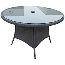 Buy John Lewis Malaga 4-Seater Outdoor Dining Table, Grey Online at johnlewis.com