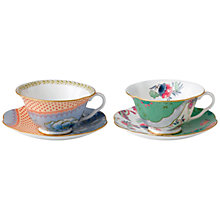 Buy Wedgwood Butterfly Cup and Saucer, Set of 2 Online at johnlewis.com