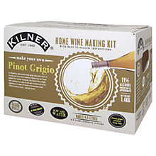 Buy Kilner Drink Works Make Your Own Pinot Grigio 6 Bottles Pack Online at johnlewis.com