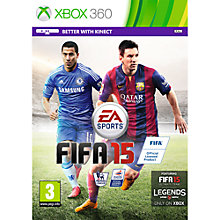 Buy FIFA 15, Xbox 360 Online at johnlewis.com
