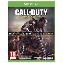 Buy Call Of Duty: Advanced Warfare- Day Zero Edition, Xbox One Online at johnlewis.com