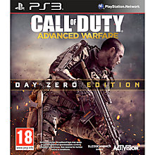 Buy Call Of Duty: Advanced Warfare- Day Zero Edition, PS3 Online at johnlewis.com