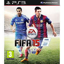 Buy FIFA 15, PS3 Online at johnlewis.com