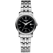 Buy Roamer 709844 41 55 70 Women's Classic Stainles Steel Watch, Silver Online at johnlewis.com