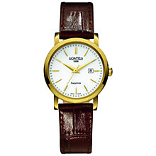 Buy Roamer 709844 48 25 07 Women's Classic Leather Watch, Brown Online at johnlewis.com