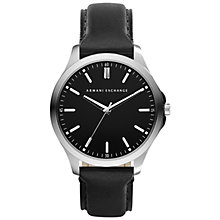 Buy Armani Exchange AX2151 Men's Hampton Watch, Black Online at johnlewis.com