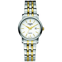 Buy Roamer 709844 47 25 70 Women's Classic Two Tone Bracelet Strap Watch, Silver Online at johnlewis.com