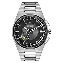 Buy Citizen Satellite Wave CC2006-61E F1000 Eco-Drive Titanium Watch, Grey / Silver Online at johnlewis.com