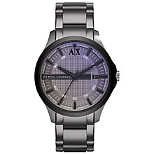 Buy Armani Exchange AX2151 Men's Watch, Grey Online at johnlewis.com