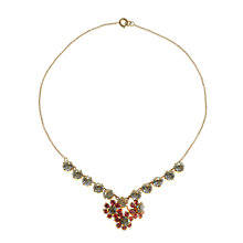 Buy Alice Joseph Vintage 1930s Gilt Plated Diamante Necklace, White Online at johnlewis.com
