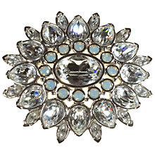 Buy Alice Joseph Vintage Swarovski Diamante Faux Moonstone Brooch, White Online at johnlewis.com