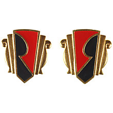 Buy Alice Joseph Vintage 1980s Monet Limited Edition Earrings, Black / Red Online at johnlewis.com