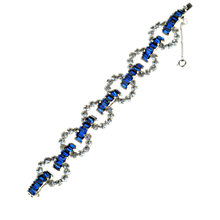 Buy Alice Joseph Vintage 1950s Mitchel Maer Christain Dior Diamante  Bracelet, Silver Online at johnlewis.com