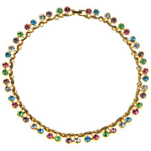Buy Alice Joseph Vintage 1950s Pastel Diamante Collar, Multi Online at johnlewis.com