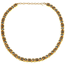 Buy Alice Joseph Vintage White Crystal Diamante 1980s Monet Necklace Online at johnlewis.com