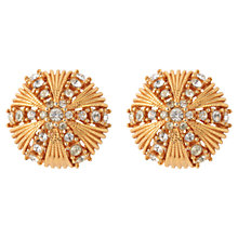 Buy Susan Caplan Vintage 1960s Ciner Swarovski Crystal Sunburst Earrings Online at johnlewis.com