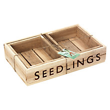 Buy Burgon & Ball Wooden Seed Tray, Set of 3 Online at johnlewis.com