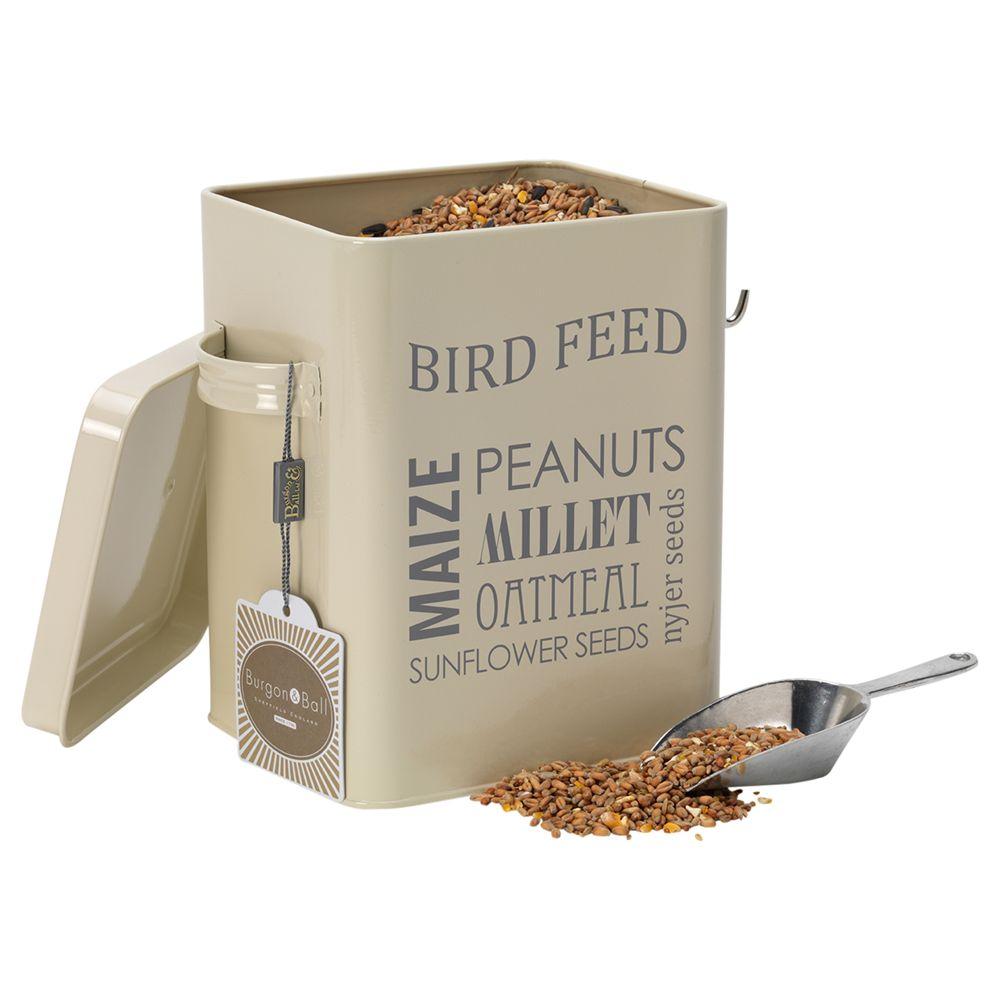 Burgon & Ball Bird Feed Tin