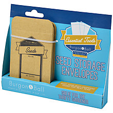 Buy Burgon & Ball Seed Envelopes Online at johnlewis.com