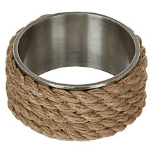 Buy Lexington Spring Rope Napkin Ring Online at johnlewis.com