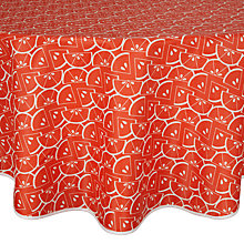 Buy John Lewis Citrus Tablecloth, Dia.180cm Online at johnlewis.com