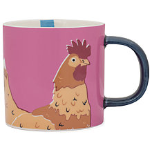Buy Joules Hen Mug Online at johnlewis.com