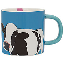 Buy Joules Cow Mug, Blue Online at johnlewis.com