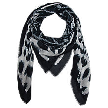 Buy Gérard Darel Scarf, Black Online at johnlewis.com