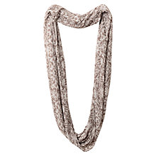 Buy East Floral Burnout Snood, Pebble Online at johnlewis.com