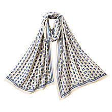 Buy East Baba Print Scarf, Dusk Online at johnlewis.com