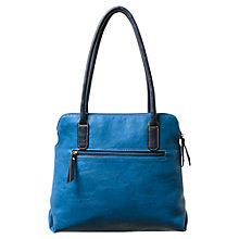 Buy East Multi Pocket Bag, Blue Online at johnlewis.com