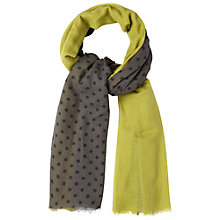 Buy White Stuff Spot Print Wool Scarf Online at johnlewis.com