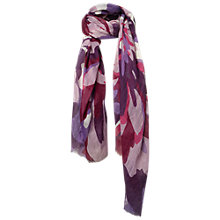 Buy Fat Face Flowerburst Scarf, Purple Online at johnlewis.com