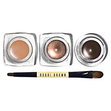 Buy Bobbi Brown Chocolates Long Wear Cream Shadow Trio Online at johnlewis.com