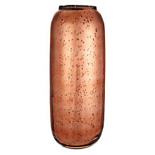 Buy John Lewis Copper Glass Cylinder Vase, Large Online at johnlewis.com