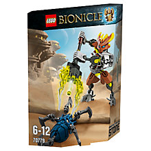 Buy LEGO Bionicle Protector Of Stone Online at johnlewis.com