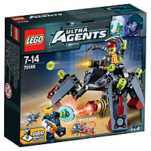 Buy LEGO Ultra Agents Spyclops Infiltration Online at johnlewis.com