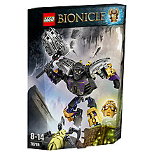 Buy LEGO Bionicle Onua - Master Of Earth Online at johnlewis.com