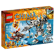 Buy LEGO Legends of Chima Icebite's Claw Driller Online at johnlewis.com