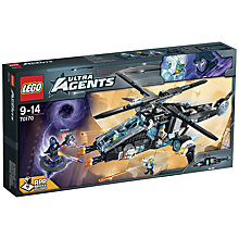 Buy LEGO Ultra Agents UltraCopter vs. AntiMatter Online at johnlewis.com